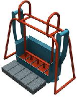 Станок для производства плитки Паук (плитка кирпич)