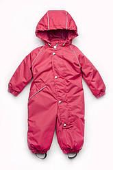 Комбинезон демисезонный для девочки, размеры 80-98, Модный карапуз