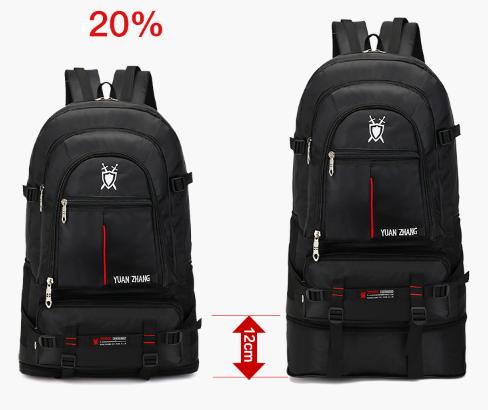 Рюкзак раскладывающийся черный