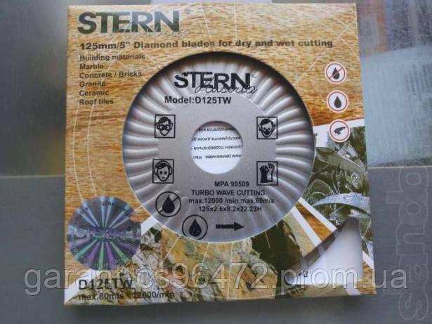 Алмазный отрезной круг А 230 STERN 22,2, Турбоволна