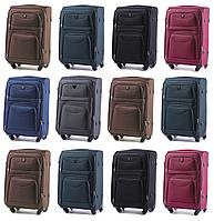 Большие чемоданы Wings 6802 на 4-х колесах