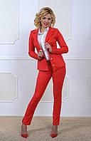 Стильный брючный женский костюм, фото 1