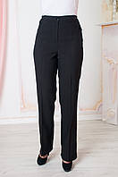 Прямые брюки больших размеров Светлана черные