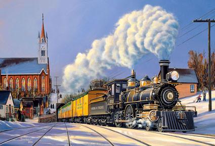 Пазлы Castorland Поезд 51885, 500 элементов