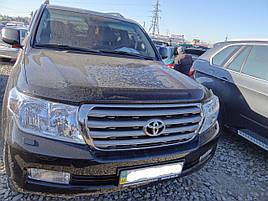 Дефлектор капота (мухобойка) на HIC Toyota Land Cruiser 200  2008 ->