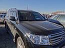 Дефлектор капота (мухобойка) на HIC Toyota Land Cruiser 200  2008 ->, фото 2