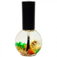 """Цветочное масло для кутикулы и ногтей Naomi """"Апельсин"""" 15 мл"""