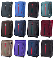 Тканевые чемоданы Wings 1706 на 2-х колесах