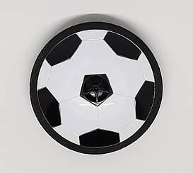 Летающий футбольный мяч 11см черный