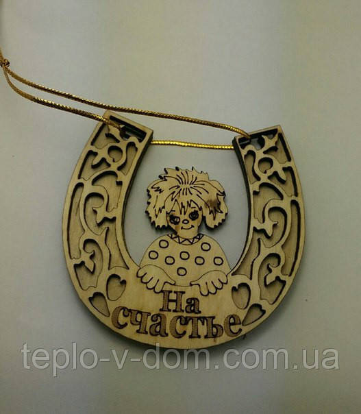"""Магнит-медальйон """"На счастье"""" (10шт)"""