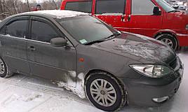 Дефлекторы окон (ветровики) Toyota Camry 2001-> 4D (V30) 4шт (HIC)