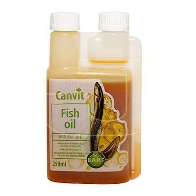 Добавка Canvit Fish oil канву Фіш Оіл для собак для кожи и шерсти 250мл