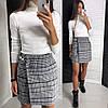 Женская короткая юбка на запах 42-46, фото 3