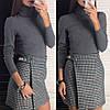 Женская короткая юбка на запах 42-46, фото 4