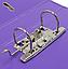 Папка регистратор А4 LUX Economix, 70 мм, фиолетовая E39723*-12, фото 3