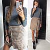 Женская короткая юбка на запах 42-46, фото 5