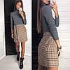 Женская короткая юбка на запах 42-46, фото 6