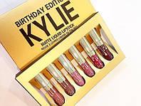 Набор жидких матовых помад Kylie Birthday Edition (Реплика)
