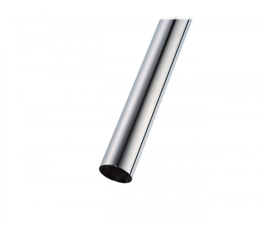 Труба диаметр 50 мм, длина 3000 мм, хром