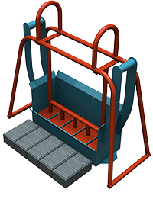 Станок для производства плитки ПАУК (плитка кирпич), фото 1