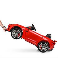 Детский электромобиль Jaguar M 3994EBLR-3 красный Гарантия качества Быстрая доставка, фото 4