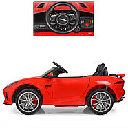 Детский электромобиль Jaguar M 3994EBLR-3 красный Гарантия качества Быстрая доставка, фото 3