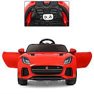 Детский электромобиль Jaguar M 3994EBLR-3 красный Гарантия качества Быстрая доставка, фото 2