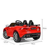 Детский электромобиль Jaguar M 3994EBLR-3 красный Гарантия качества Быстрая доставка, фото 5