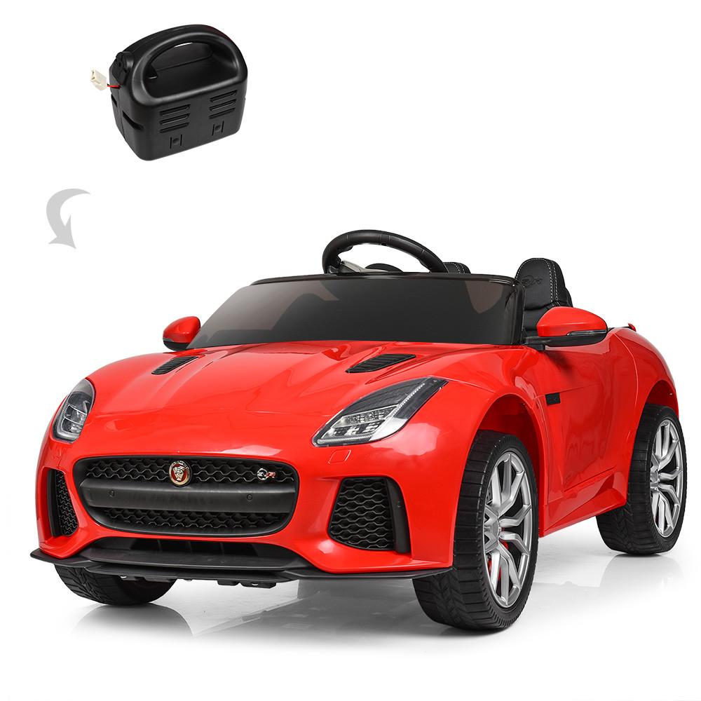 Детский электромобиль Jaguar M 3994EBLR-3 красный Гарантия качества Быстрая доставка