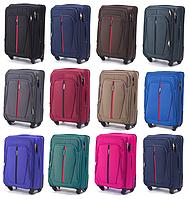 Тканевые чемоданы Wings 1706 на 4-х колесах