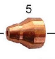 Сопло 1,0мм (45А) к плазмотрону Kjellberg® PB-S45W (T-8614)