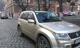 Дефлекторы окон (ветровики)   Suzuki Grand Vitara 2005-> 4шт(Heko)