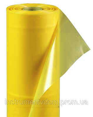 Пленка тепличная парниковая желтая 120 мкм (28 кг, 6х50 м)