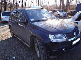 Дефлекторы окон (ветровики) Suzuki Grand Vitara 2005-> 4шт(HIC)