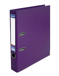 Папка реєстратор А4 LUX Economix, 70 мм, фіолетова E39723 * -12