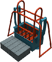 Станок для производства кирпича ПАУК (кирпич)