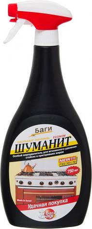 """Чистящее средство """"Шуманит"""" анти-жир Bagi 0,750 мл, фото 2"""