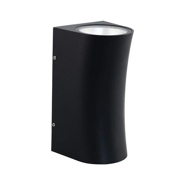 Светильник фасадный 12Вт 4200K 20х11,5см ЛЕД SERVI IP44 настенный черный Horoz Electric