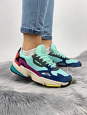 Женские кроссовки в стиле Adidas Falcon Clear Mint, фото 3