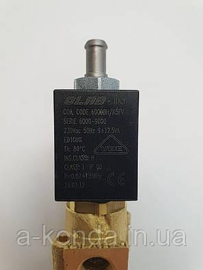 Оригінальний Електромагнітний клапан для кавоварки Zelmer 13z013 132013175 (793263), фото 2