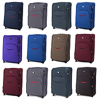 Большие тканевые чемоданы Wings 1708 на 2-х колесах