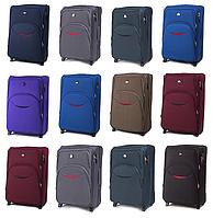 Средние тканевые чемоданы Wings 1708 на 2-х колесах