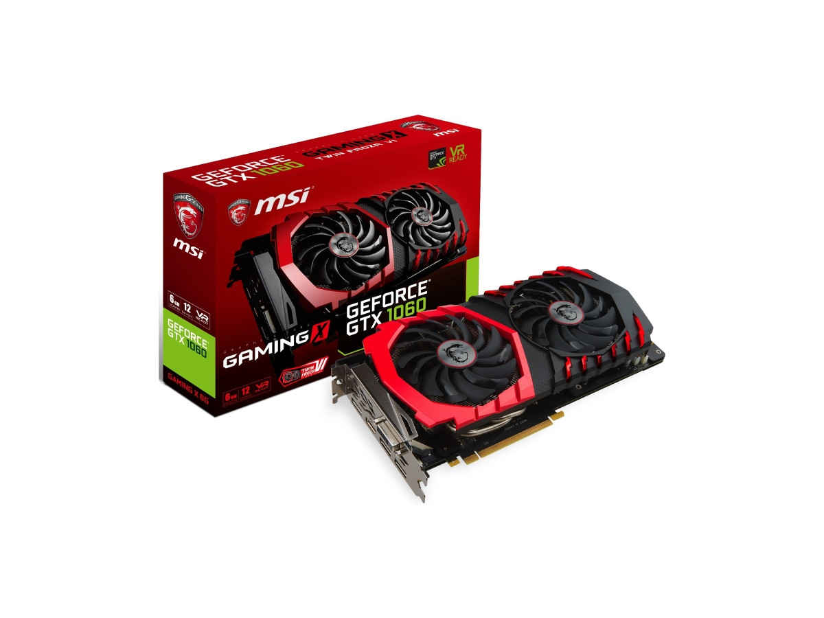 Видеокарта MSI GeForce GTX 1060 Gaming X 6G (GTX 1060 GAMING X 6G)