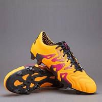 Бутсы футбольные Adidas X 15.1 FG/AG Leather