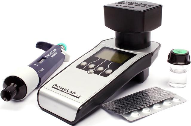 Фотометрический тестер для бассейна PrimeLab 10–in–1 kit