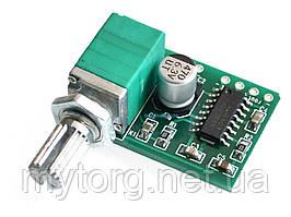 Мини цифровой усилитель PAM8403 5В