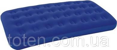 Матрас надувной велюровый Односпальный Bestway 67001 (188x99x22 см)