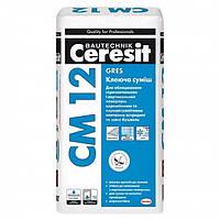 Клей для керамограніту (грес) Ceresit CM12/25