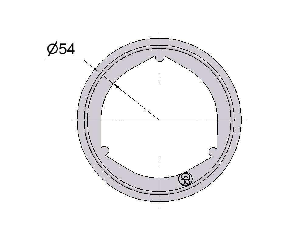 № 2505506 Комплект прокладок турбины VW 2.5D