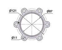 № 2505177 Комплект прокладок турбины DAF 12.5D, фото 1